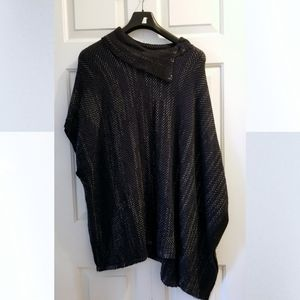 Northern Reflections Navy Blue Poncho Size L/XL